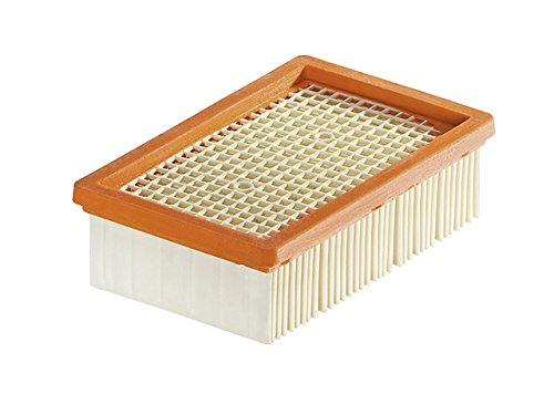 Karcher 2.863-005.0 Filtro plissettato piatto per MV4, MV5, MV6, 200 x 125 x 60 mm