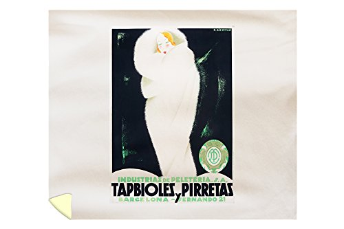 Tabpioles y Pirretas Vintage Poster (artist: Cerny) Spain c. 1929 (88x104 King Microfiber Duvet Cover) by Lantern Press