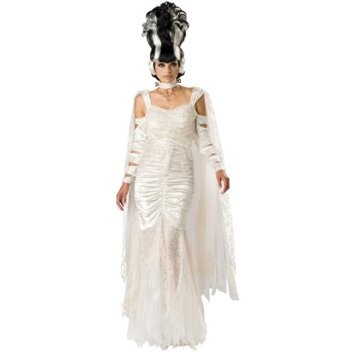 InCharacter Women's Monster Bride Costume, White, Small by Fun World