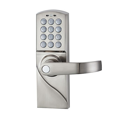 Top Best 5 Outdoor Keyless Door Lock For Sale 2016