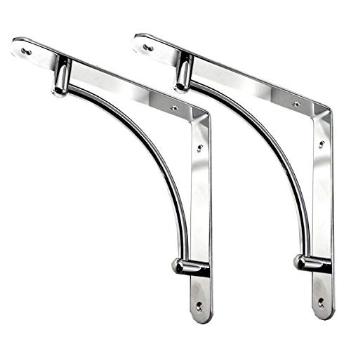 - Decorative Contemporary Shelf Brackets - 8 3/4