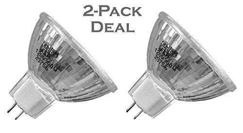 2-Pack Deal ELH 120V 300W Halogen Replacement Bulb for Eastman Kodak Carousel 600H 650H 750H 750HAR 760H 800H 850H 850H-K 760H-K 840H 860H EKTAGRAPHIC AF AF-2 B-2 AF-2K AF-3 B-2A E-2 Starfiche Lamp