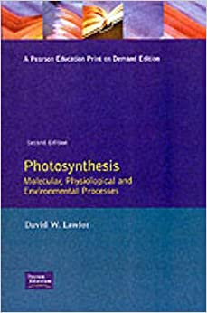 Book Photosynthesis: Molecular, Physiological and Environmental Processes by D W Lawlor (1993-05-10)
