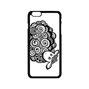 The Cute Sheep Hight Quality Plastic Case for Iphone 6 by icecream design