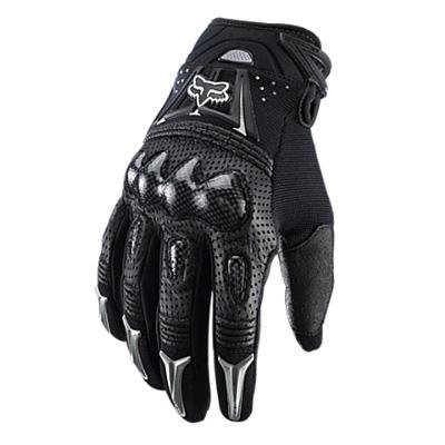 Fox Bomber black (Size: XL (11)) Full finger gloves