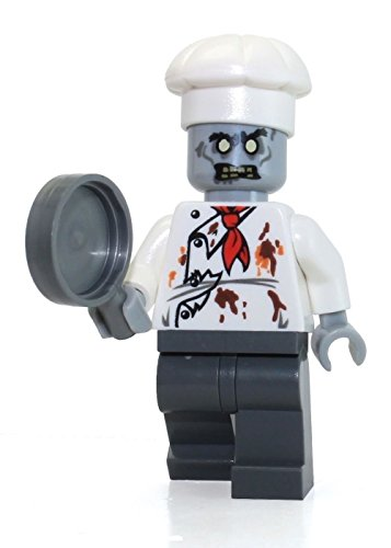 LEGO Monster Fighters MiniFigure - Zombie Chef (10228) - x1 Loose (Zombie Chef compare prices)
