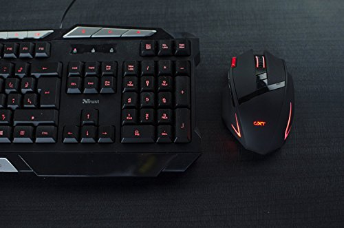 7c7f07ece92 Amazon.in: Buy Trust Gaming GXT 130 Wireless Gaming Mouse with 9 Buttons &  LED IlluminatiOn 21452 Online at Low Prices in India   Trust Gaming Reviews  & ...
