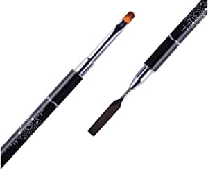 Nail Art Double-Ended Brush Pusher Carving UV Gel Painting Pen Manicure Too