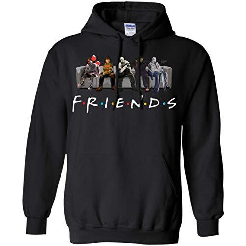 Friends Film Style Gift Hoodie - Best Horror Characters Halloween Hoodie]()
