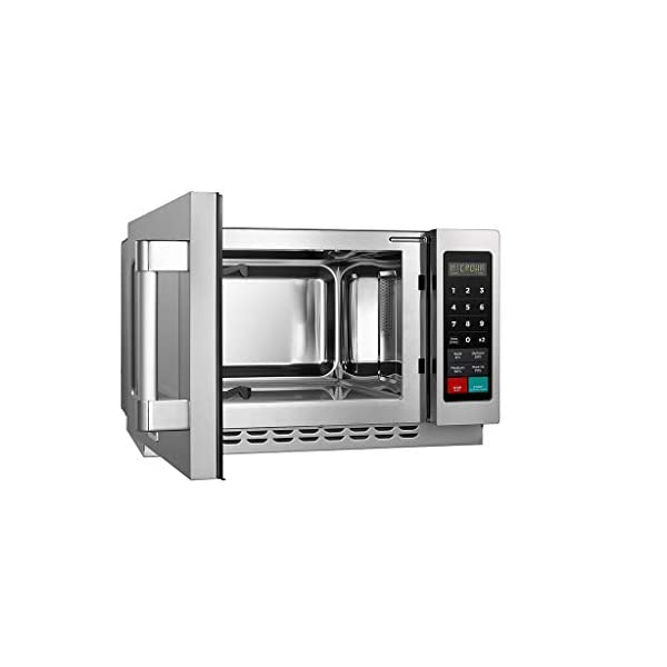 Midea Equipment 1034N1A Stainless Steel Countertop Commercial Microwave Oven, 1000W 4