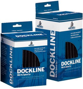 (2 In 1 Solid Premium Double Braid Nylon Dock Lines 5/8 in. x 30 ft)
