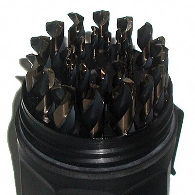 Magnum Super Premium 29 Piece Drill Bit Set with Industructable Case
