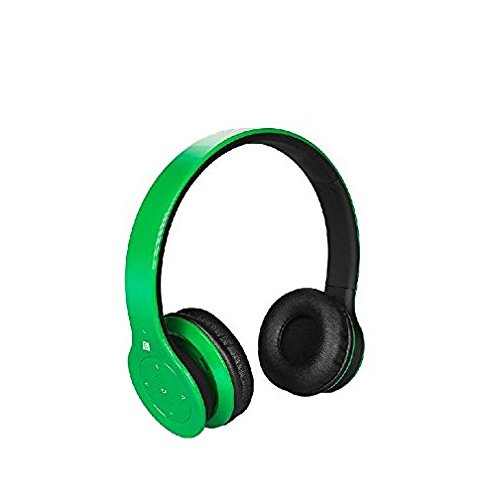 Crabot AN-001 Wireless Bluetooth Stereo Headset Headphone for iphone HTC Samsung Galaxy Cell phone PC Laptop (green)
