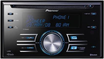 Pioneer FH-P8000BT Bluetooth Negro receptor multimedia para coche - Radio para coche (4.0