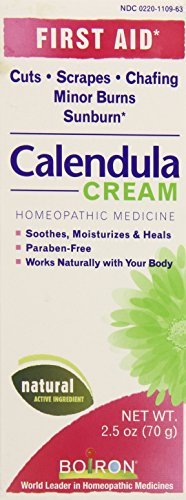 (Boiron Calendula Cream, 2.5 Ounce, Homeopathic Medicine for First Aid)