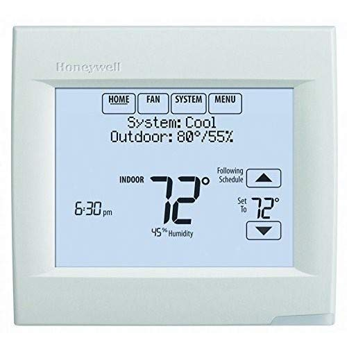 Honeywell TH8321WF1001/U Wi-Fi 8000 for Residential or Commercial Use, Stages Up to Up to 3 Heat/2 Cool by Honeywell