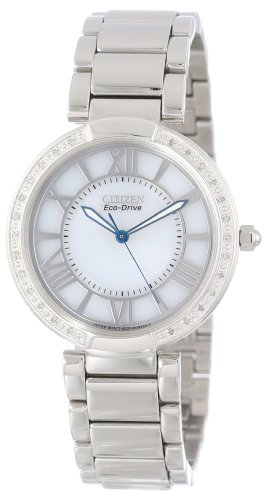 Citizen Women's EM0100-55A d'Orsay Eco-Drive Stainless Steel Watch
