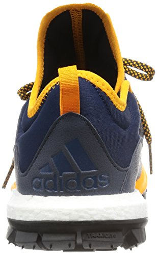Adidas Performance Mænds Reaktion Spor Boost Løbesko Sneakers Flåde Sort OntNq6LC0C