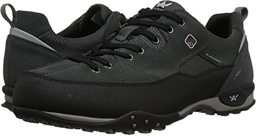 Allrounder by Mephisto  Men's Tacco Tex Black Rubber/Ivy Suede 41 M EU (Allrounder Black Shoes)