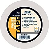 "Office Products : Pro Art PRO-5330-1/4 White Artist Tape, 1/4"" x 60 yd"