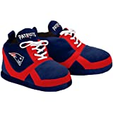 NFL New England Patriots 2015 Sneaker Slipper, X-Large, Blue