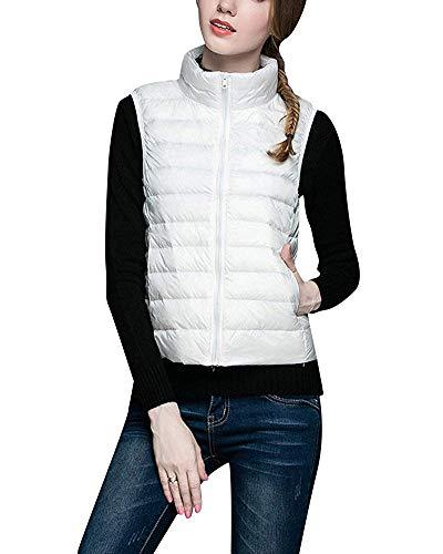 Léger Femmes Beige Gilet Oudan Coat Pour Vineux Ultra Jacket Taille Puffer L Rouge coloré w010BqXHT