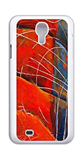 High Quality Diy case Of Watercolor customized Bumper Plastic galaxy s4 cases - Abstract Guitar
