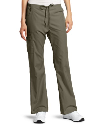 Everyday Scrubs Flare Leg (Dickies Medical Scrubs 854206 Women's Missy Fit Every Day Scrubs Back Elastic Flare Leg Pant Taupe)