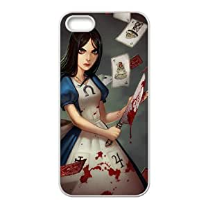 DIY Stylish Printing Alice Madness Returns Cover Custom Case For iPhone 5, 5S MK1Q883169