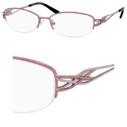 SAKS FIFTH AVENUE Monture lunettes de vue 246 0JTU Rose/Vin rouge 52MM