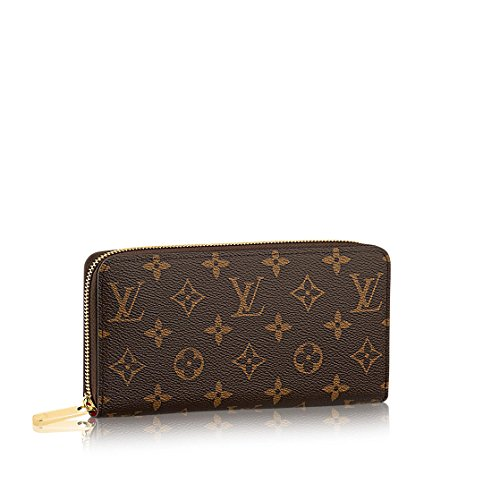 Louis Vuitton Monogram Canvas Fucsia Zippy Wallet M41895