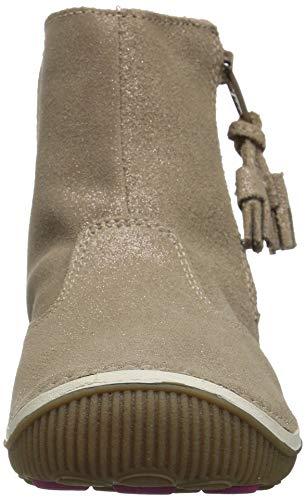 Pictures of Stride Rite Girls' SRT Zoe Ankle Boot BG59431 Light Gold 6