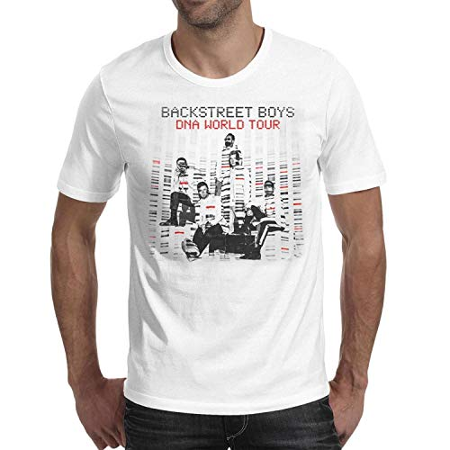 9a3ca438ce52f Novelty Cotton Backstreet-Boys-DNA-World-Tour-Poster- Tshirt for