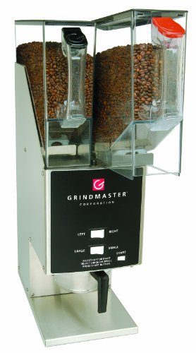 Universal Food Hopper - Grindmaster-Cecilware 250RH-2 Food Service Coffee Grinders with Dual Portions and 2 Removable Hoppers