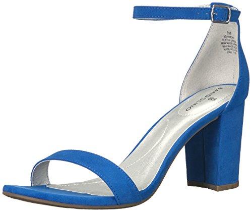 (Bandolino Women's Armory Heeled Sandal, Azure, 6.5 M US)