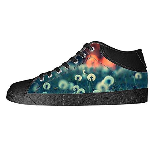 Custom Dente di Leone Womens Canvas shoes I lacci delle scarpe scarpe scarpe da ginnastica Alto tetto