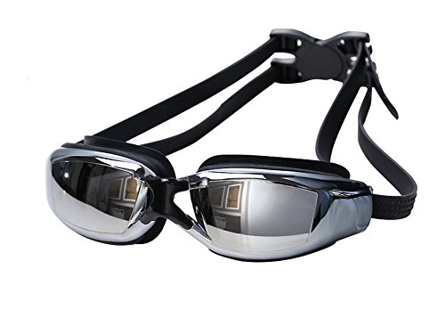 052f6237546 MIGAGA Swimming Goggles - Unisex No Leaking Triathlon Swim Glasses For  Adult Men Women Youth Kids