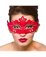 Demonte Eye Mask - Red (min 12) **NEW**
