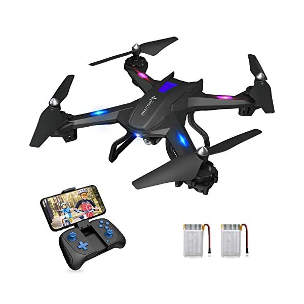 SNAPTAIN S5C WiFi FPV Drone 720P HD Camera, Voice Control, Wide