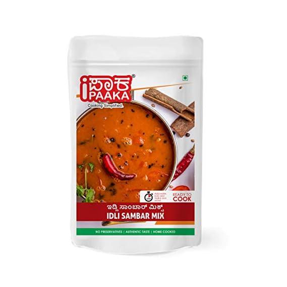 iPaaka Idli Sambhar Mix -100 Grams | Ready-to-Cook