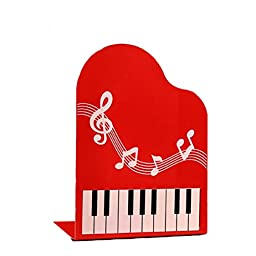 Students Stationery Office Book Stand The Piano Keyboard Red Map Made a Bookcase Of Price