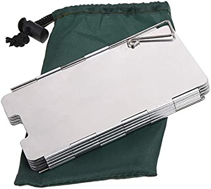 9 Placas de Aluminio Plegable Camping Cocina Estufa de ...