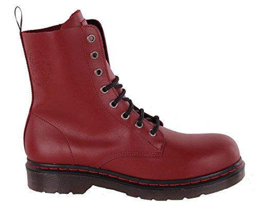 DIESEL rouge bottines pour bottines femme femme cuir pour DIESEL bottines véritable bottes bottines vrfwqv