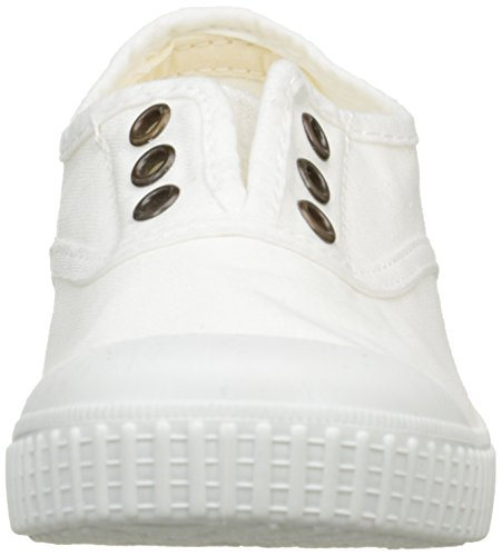 Victoria Inglesa Lona Tintada Punt. - Zapatillas Niños Blanc (20 Blanco)