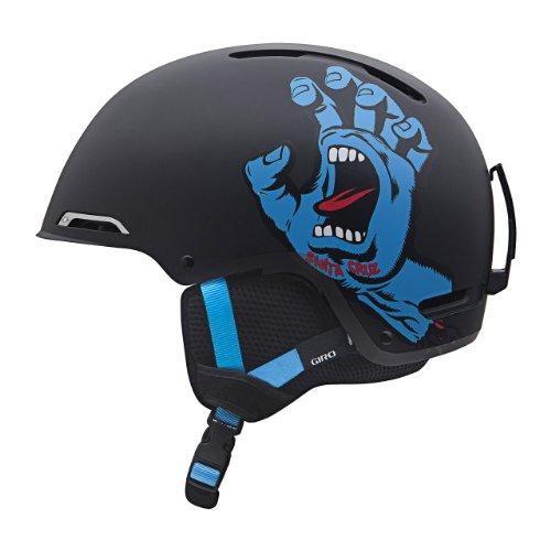 Giro Youth Rove Snow Helmet (Matte Black Santa Cruz Screaming Hand OG, Small), Outdoor Stuffs