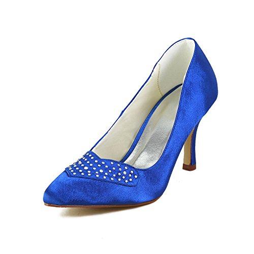 Blau Wedding Jia Damen Pumps A3115 Jia Hochzeitsschuhe Brautschuhe zq06wUfq
