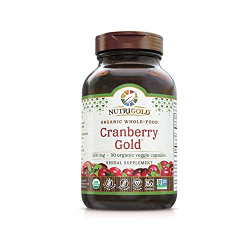 (Cranberry Gold - Organic Whole Food Cranberry Concentrate (500mg, 90 veg caps))