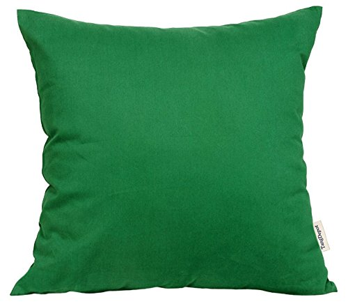 TangDepot174; Super Silky Soft, HIGHEST QUALITY 100% Cotton Solid Decorative Throw Pillow Covers, Pillowcases, euro shams, many colors & sizes avaiable - (26