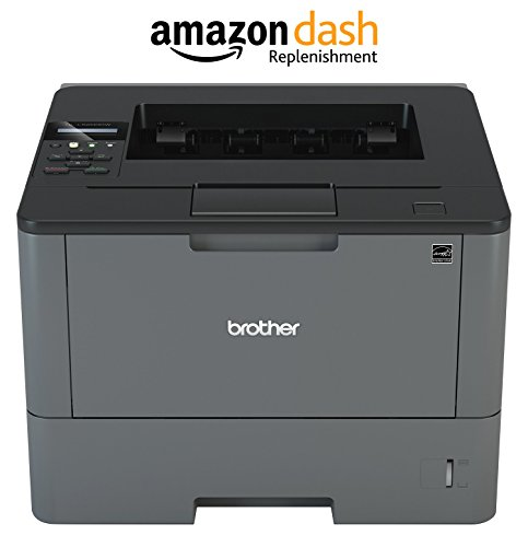 Brother HL-L5200DW Business Laser Printer with Wireless Networking and Duplex, Amazon Dash Replenishment Enabled by Brother