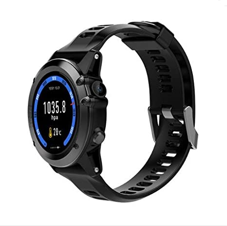 Amazon.com: Microwear H1 1.39inch Super AMOLED 4GB GPS 3G WIFI Camera IP68 Heart Rate Monitor Smart Watch: Cell Phones & Accessories